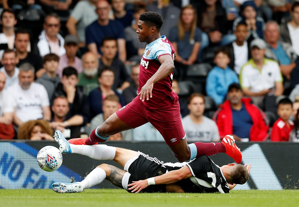 'Had Rashford In His Back Pocket' 'Looks A Good Player' Fans Praise West Ham Star After 'Class' Performance Against United